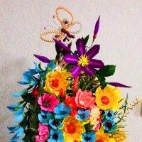 кашпо с цветами :: Алёна Дион