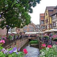 Colmar (Кольмар) —  сказочно красивый городок в Эльзасе... :: Galina Dzubina