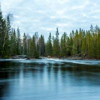 Озеро Тохмайоки. Сумерки. :: Владимир Лазарев