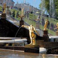 фонтаны Петергофа :: elena manas
