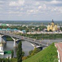 С высокого Окского берега / Н.Новгород 2012 г. :: Андрей Головкин
