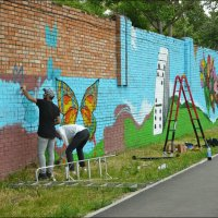 Стена в радужных цветах! :: Надежда