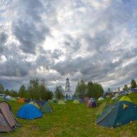 Великорецкий крестный ход. Палаточный лагерь в Великорецком :: Борис Гуревич