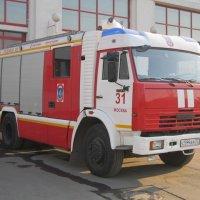 Пожарный автомобиль КамАЗ :: Дмитрий Никитин