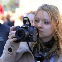 девушка и фотоаппарат :: Олег Лукьянов