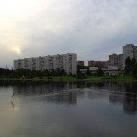 Вечер не трудного дня на пруду :: Андрей Лукьянов