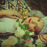 Портрет в в цветах :: Юлия Астратенко