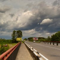 по радио объявили штормовое предупреждение... :: Александр Прокудин