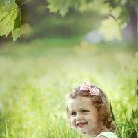Девочка в поле :: Анна Никонорова
