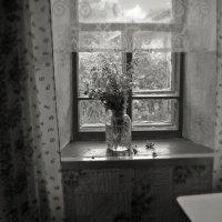 Окно в деревне :: Ирина Курмалеева