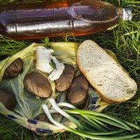 обед крестьянина в поле :: алексей турта