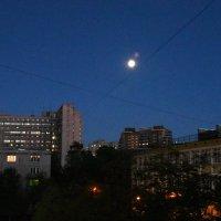 Питерское небо между двух зорь... :: Валерий Подорожный