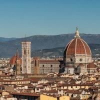 Вид на Флоренцию с площади Микеланджело :: Надежда Лаптева