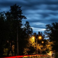 Night street :: Dmitry Ozersky