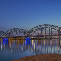 ЖД мост в Риге :: Peiper ///