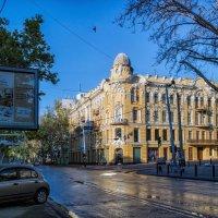 Раннее утро на Ришельевской... :: Вахтанг Хантадзе