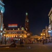 Вечер на улице Баумана. :: Виктор Евстратов