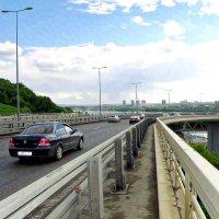 Нижегородский авто-метро мост :: Андрей Головкин