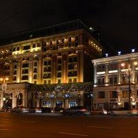""" Ritz Carlton"" на месте снесённой гостиницы ""Интурист"" :: Галина R..."