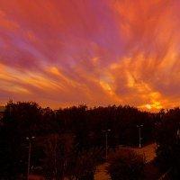 Полыхающий закат . :: Мила Бовкун