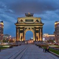 Москва. Триумфальные ворота :: Минихан Сафин