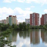 р.Ульба в черте города :: Борис Белоногов
