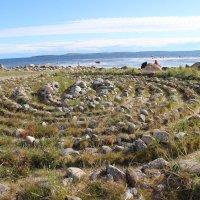 Таинственные лабиринты Соловецких островов :: Galina Dolkina