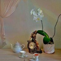 Часы и орхидея :: Наталия Лыкова