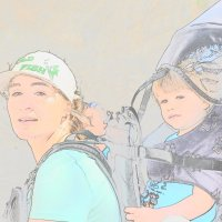 Прогулка с мамой :: Сергей Воронков