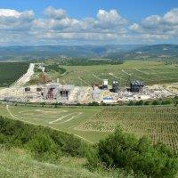 Строительство Севастопольской электростанции :: Игорь Кузьмин