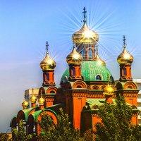 Золотые купола Павлодара :: Сергей Толчин