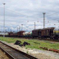 Шпалы, вагоны, гудки... :: Андрей Головкин