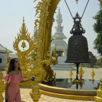 2017. Таиланд. Чианграй. Белый храм (2) :: Владимир Шибинский