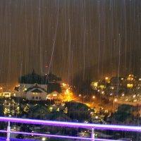 Снежный дождь в феврале :: Вячеслав Случившийся