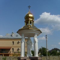 Каплица   Иисуса   Христа   в   Опрышивцах :: Андрей  Васильевич Коляскин