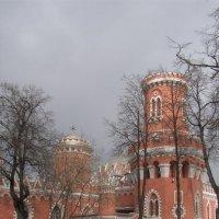 башня Петровского путевого дворца :: Анна Воробьева