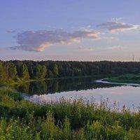 На закате. :: Ильдус Хамидулин