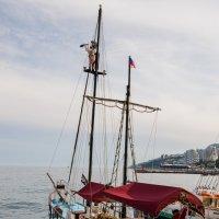 Чёрная каракатица в Ялте... :: Ruslan