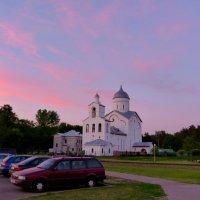 Храм на закате :: Александр Прокудин