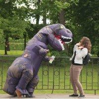 История с динозавром :: Ирина Фирсова