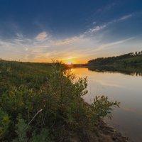 Закат на Кулацком пруду :: Mikhail Andronikov