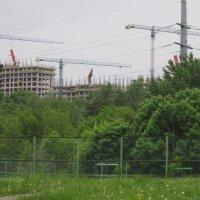 Пейзаж со стройкой :: Дмитрий Никитин
