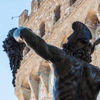 "Флоренция. Автопортрет Бенвенутто Челлини (статуя ""Персей"") :: Надежда Лаптева"