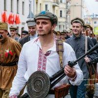 Реконструкция партизанского парада в Минске. :: Алексей Матюш