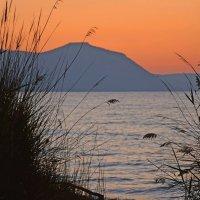 Закат над морем :: Александра Баева
