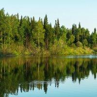 Вечер на озере :: Владимир Деньгуб