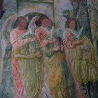 Росписи в монастыре Фраумюнстер в Цюрихе... :: Galina Dzubina