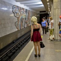 В ожидании поезда :: Николай Мелонов