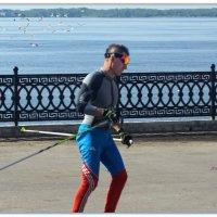 Летний лыжник. :: Anatol Livtsov