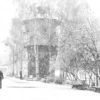 нечаянный снег . :: андрей